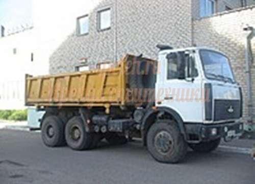 Самосвал МАЗ 20 тонн.